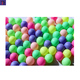 Wholesale Colorful 1 Star Plastic Matted Surface 40mm Seamless Pink Ping Pong Ball Color Ping Pong Ball Cheap Table Tennis Ball