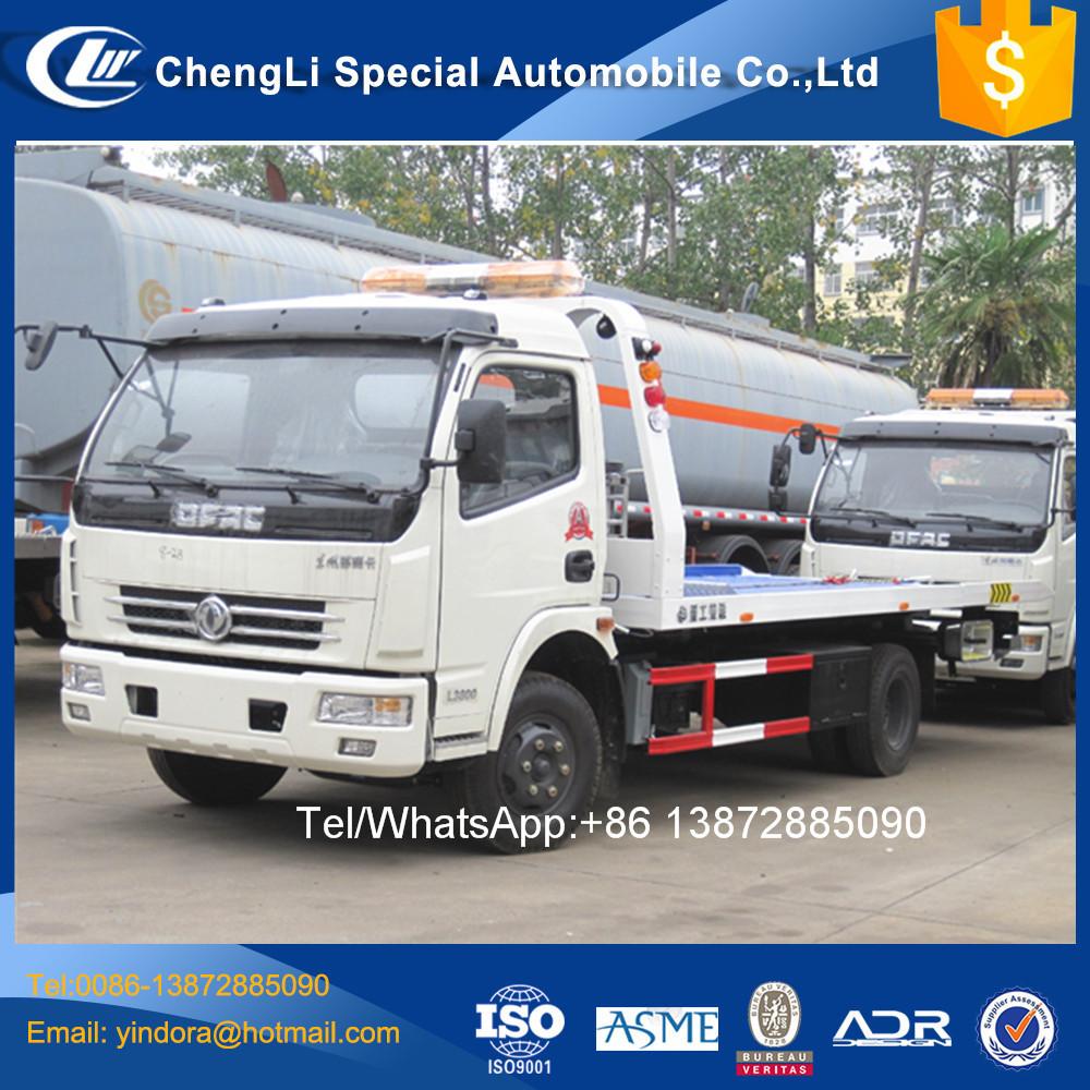 Dfac 3 Ton 4 Ton Capacity Hydraulic Lift Car Carrier Tow Truck 5 Ton ...