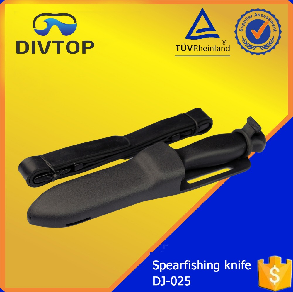 420 Stainless Steel Black Sharp Professional Dive Knife