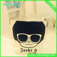 Best selling branded cheap cotton bag/ quilted fabric tote bags/ canvas cloth tote bag