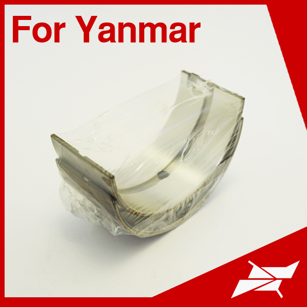 Taiwan made engine bearing and con rod bearing for Yanmar 6HA marine diesel engine use