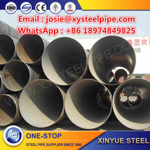 ASTM A500 Spiral Steel Pipe Piles with HS CODE,SSAW spiral welded pipe/Large Diameter Spiral Steel Pipe API 5L on Sale for Water