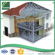 DESUMAN quality guarantee customized galvanized steel frame building