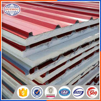 Building material PPGI Colored Metal Roof Tile corrugated steel sheet