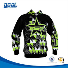 100% polyester wholesale custom sublimation hoodie printing sports hoodies