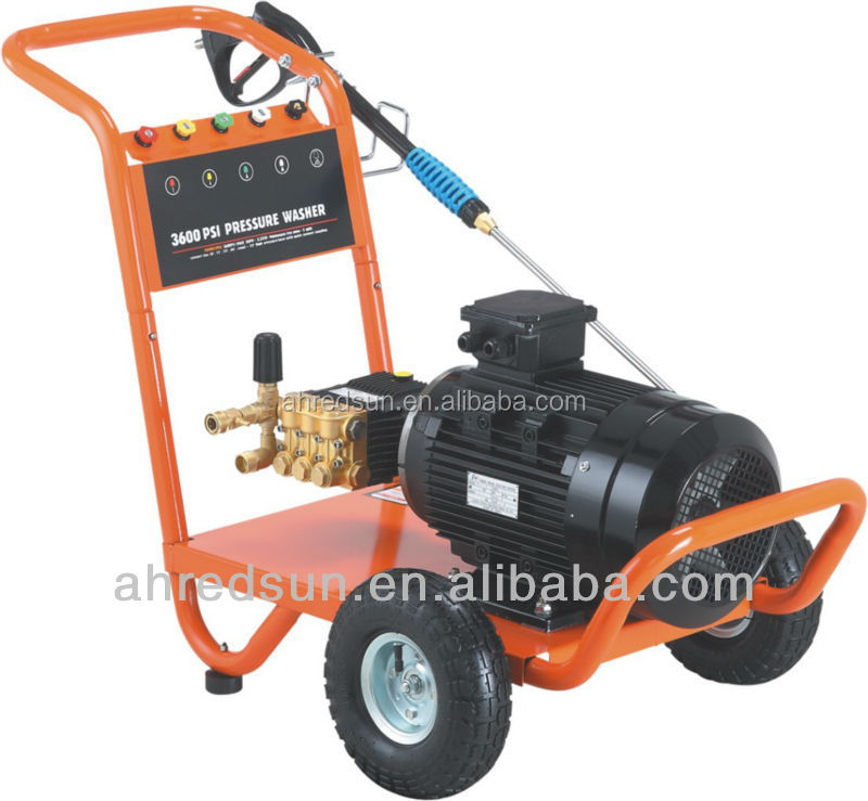 how to use high pressure washer water pump