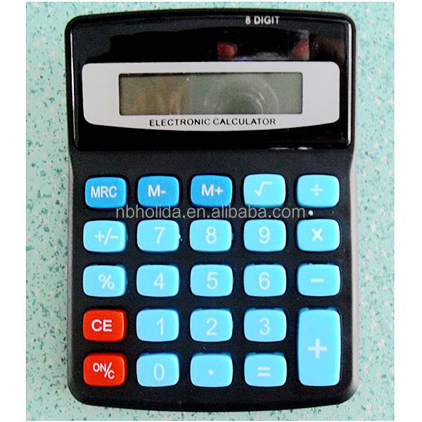 8 digit desktop calculator, fraction calculator/ HLD-606