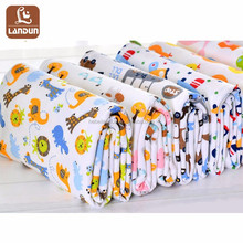 Hot Selling Baby interlock knit printed thailand pima cotton knit fabric