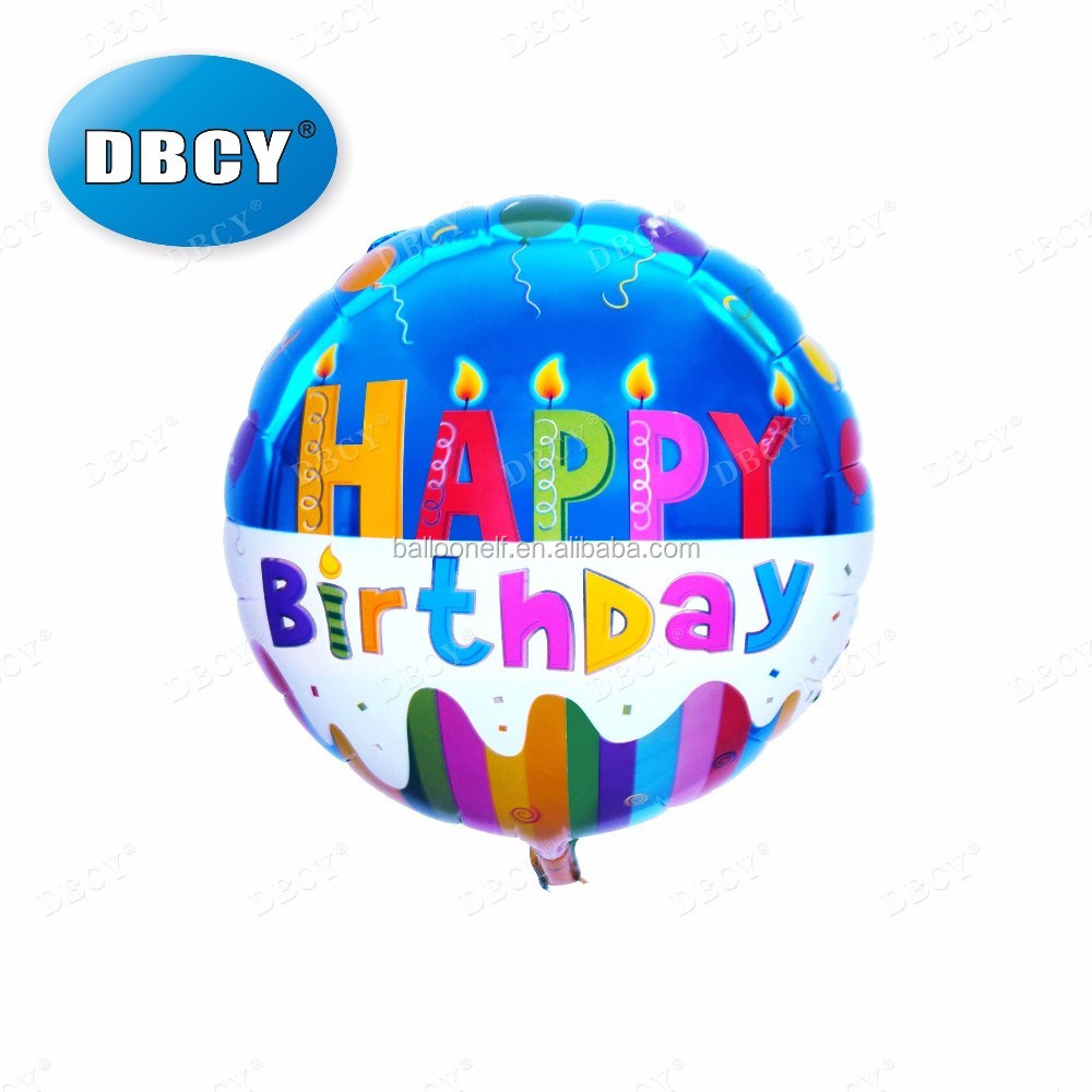 Economical foil self sealing balloon,self inflating helium balloons for birthday