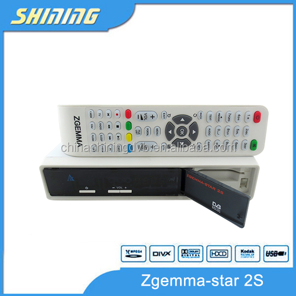 zgemma star 2S DVB-S2+S2 tuner twin tuner Enigma 2 Linux system best selling in UK as cloud ibox 2 plus se