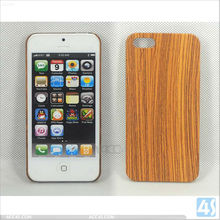 Wood Grain Hard Phone Case Cover for iPhone 5 P-IPH5HC078