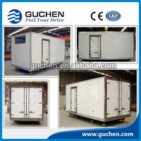 meat transport refrigerated truck body/cold refrigerated truck box /CKD TRUCK BODY PANELS