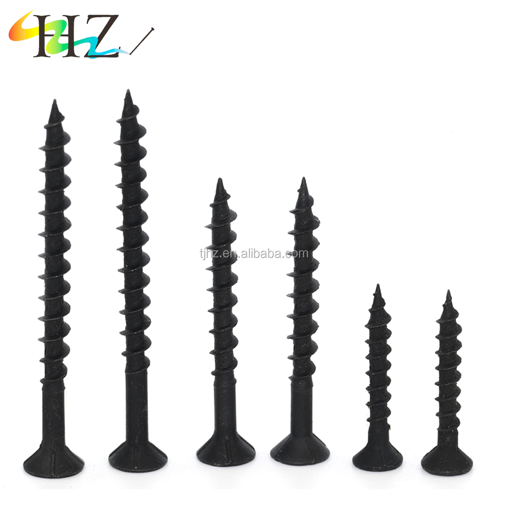 Alibaba website stainless steel jewelry black phosphated bugle Coarse drywall <strong>screw</strong>
