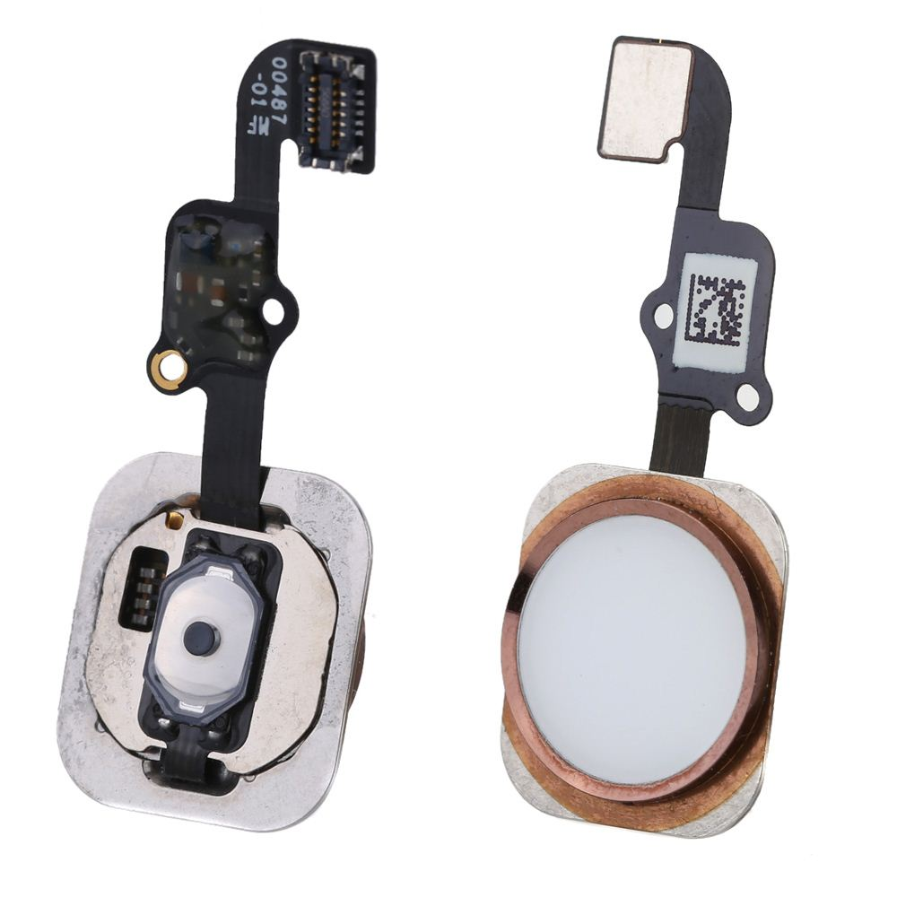 Big Sales 2016 New Arrival Home Button Flex Cable Contact ID Function Keys Fix Replace Replacement Parts Safe for iPhone 6S 4.7""