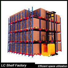 heavy duty selective metal warehouse storage pallet rack system
