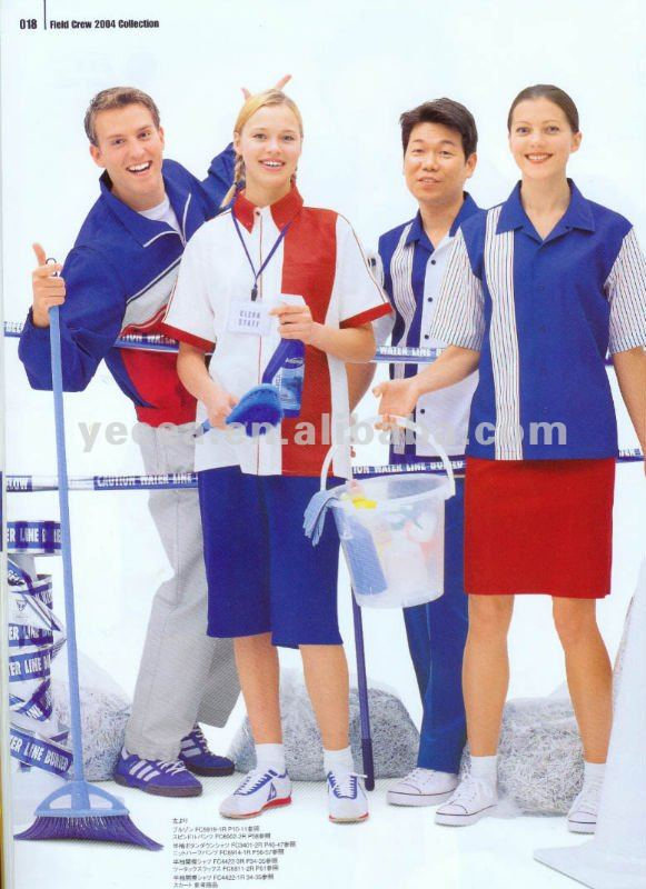 Cleaning workers uniform /oil and gas workwear