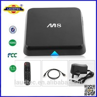High quality Quad core android 4.4 M8 smart tv box Amlogic S802 M8 2.0GHz XBMC EM8 Quad Core Google Android 4.4 tv box
