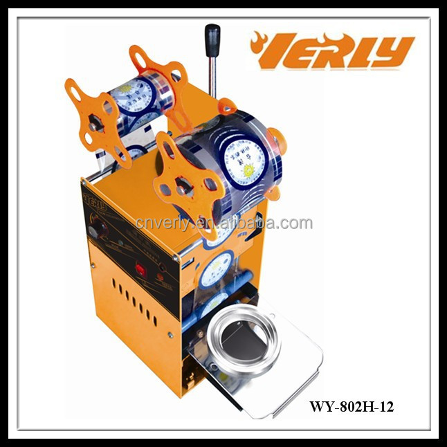 HOT SALE! Manual plastic cup sealing machine WY-802H-12