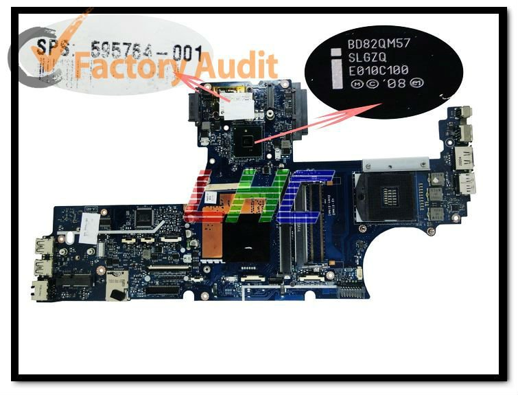 mainboard 595764-001 intel QM57 PM with video card for notebook Spares 100%tested ,45days quality Warranty