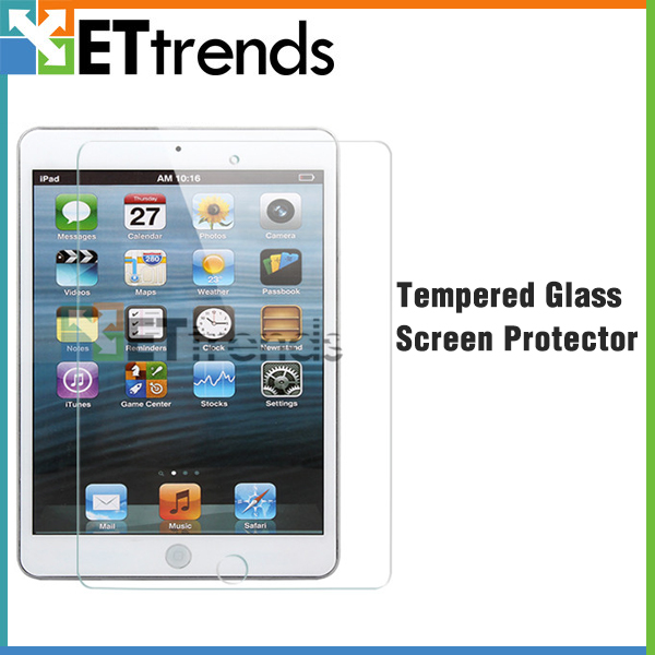 Privacy tempered glass screen protector for ipad mini / mini 2