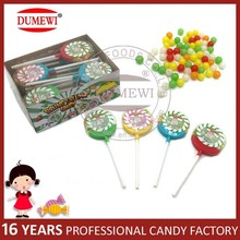 Lollipop Packing Mini Round Ball Hard Toy Candy