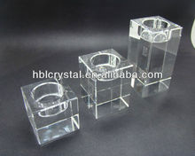 Nice k9 crystal candle holder for home decoration