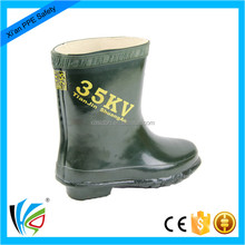 Industrial Electrical Insulating Rubber Safety Boots For Live Working