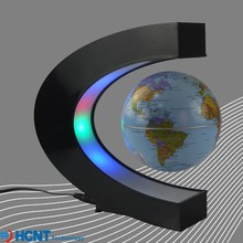The magnetic levitation 3d globe of the world