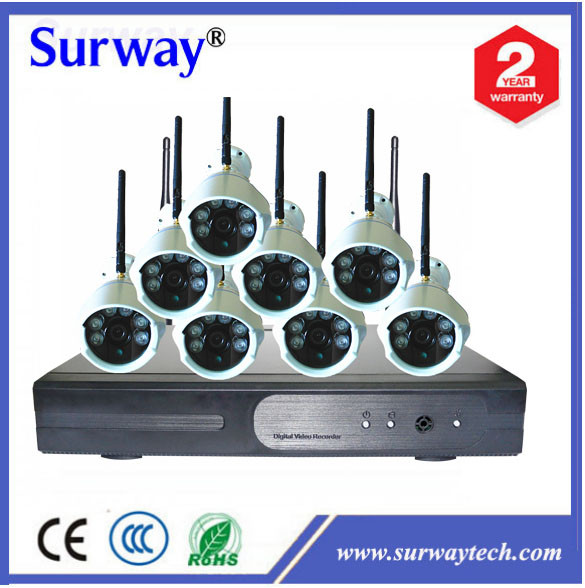 cctv kits 960P 720P best wireless security alarm system onvif ip camera 8CH 4CH Wireless NVR Kit WI FI Camera System