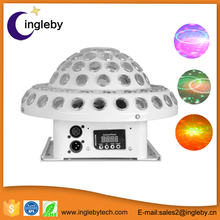 Cheap price 2in1 RGB led laser light dj light for stage decoration