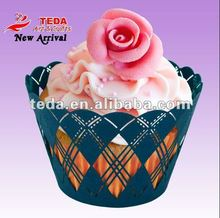 wedding table decoration cup cake tray