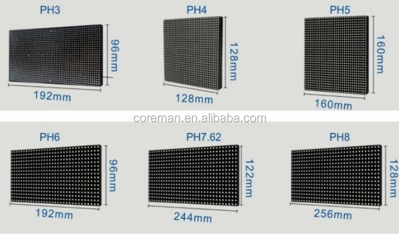 p3/p4/p5/p6/p7.62/p8/p10/p12/p16/p20/p25/p31 dip smd indoor outdoor p4 p5 p6 outdoor rental led display