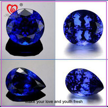 Pear Shaped Sapphire Cubic Zirconia Amethyst Wholesale Cubic Zirconia Man Made Synthetic Rough Diamond