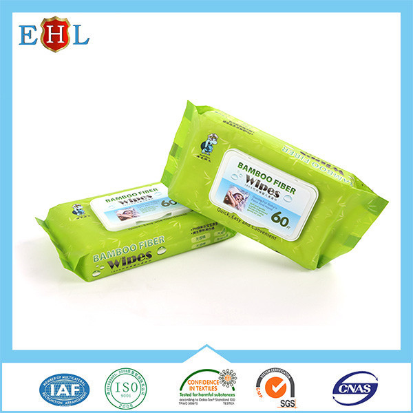 Customized Wholesale wet travel baby wipes