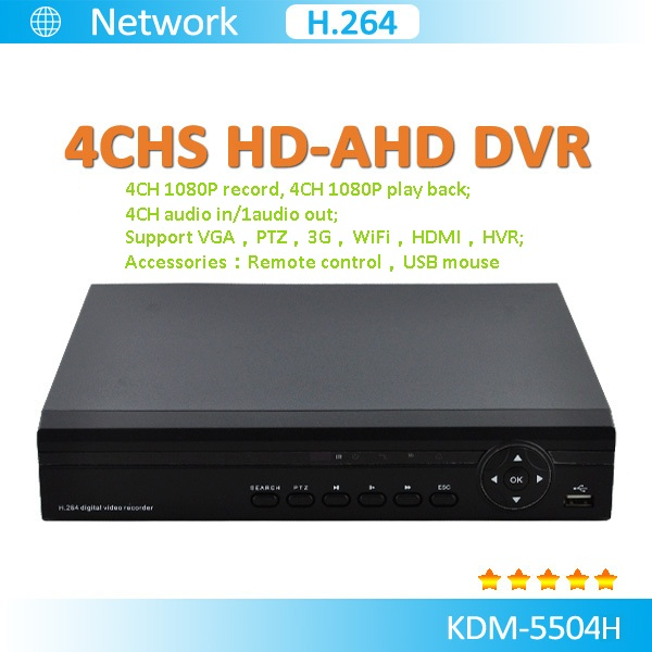 Venta caliente! 4CH MINI 1080N DE SEGURIDAD DVR independiente CCTV nube HD grabadora de Video