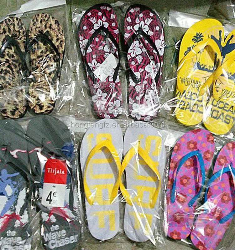 customized imprint EVA sole PVC strap flip flops for advertisement