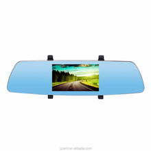 170 Degree Vehicle Data Recorder FHD Car Rearview Mirror DVR Camera