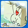 Customized Boutique cartoon Rabbit Paper Bag Packing Bags Made in Guangzhou