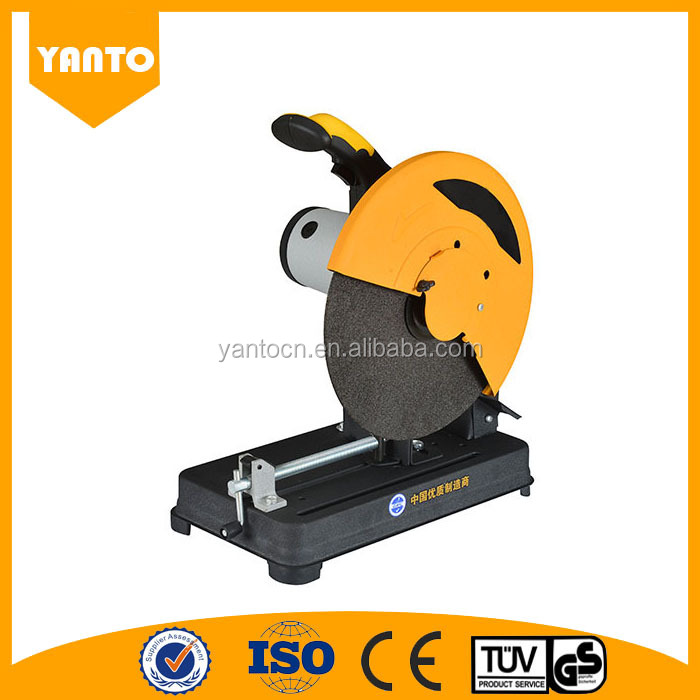 High Quality powerful electric metal cutting machine/cut off saw machine 355mm with wheel
