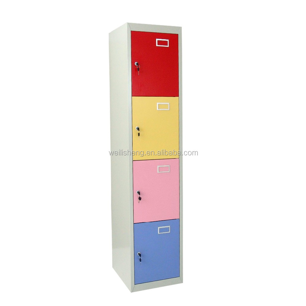 Durable Steel Construction metal locker godrej furniture price list with wangtong key