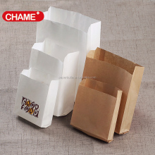 waterproof brown kraft paper bags for fast food