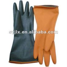 Thick Industrial Rubber Gloves/Chemical Resistant Rubber Glove/Black Rubber Gloves