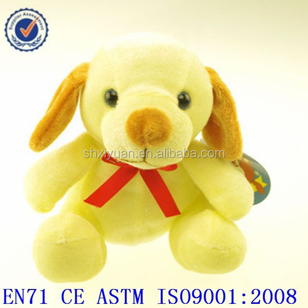 Cheap animal dog plush toys for claw machine