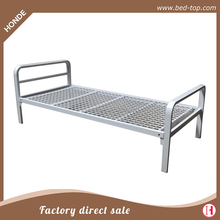 Heavy Duty Iron Mesh Bed Base White Color Metal Single Steel Bed Y