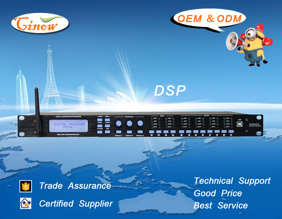 DSP, Wi-Fi Digital Speaker Processor/ Management,Audio Processor,4Input/8Output