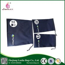 High Quality Waterproof Drawstring Shopping Bag Recyclable Durable Foldable Polyester Tote Bag