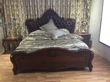 hot sale classic wooden bed made in China
