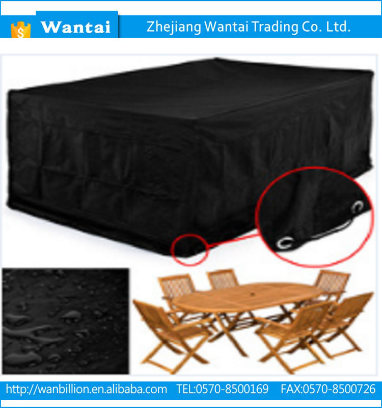 Polyester material waterproof dustproof hot-sale factory price stacking chair set cover outdoor furniture cover