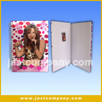 Hot- selling and High Quality diary with good sound, Customized Musical diary, Promotional diary