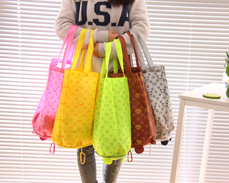 China Supplier Animal Recyclable Foldable Bag